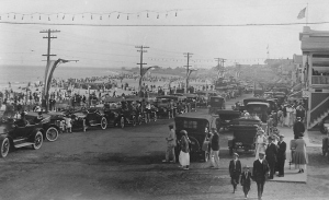 1916 Carnival Week at Hampton Beach. J. Frank Walker photo, Hampton Historical Society.