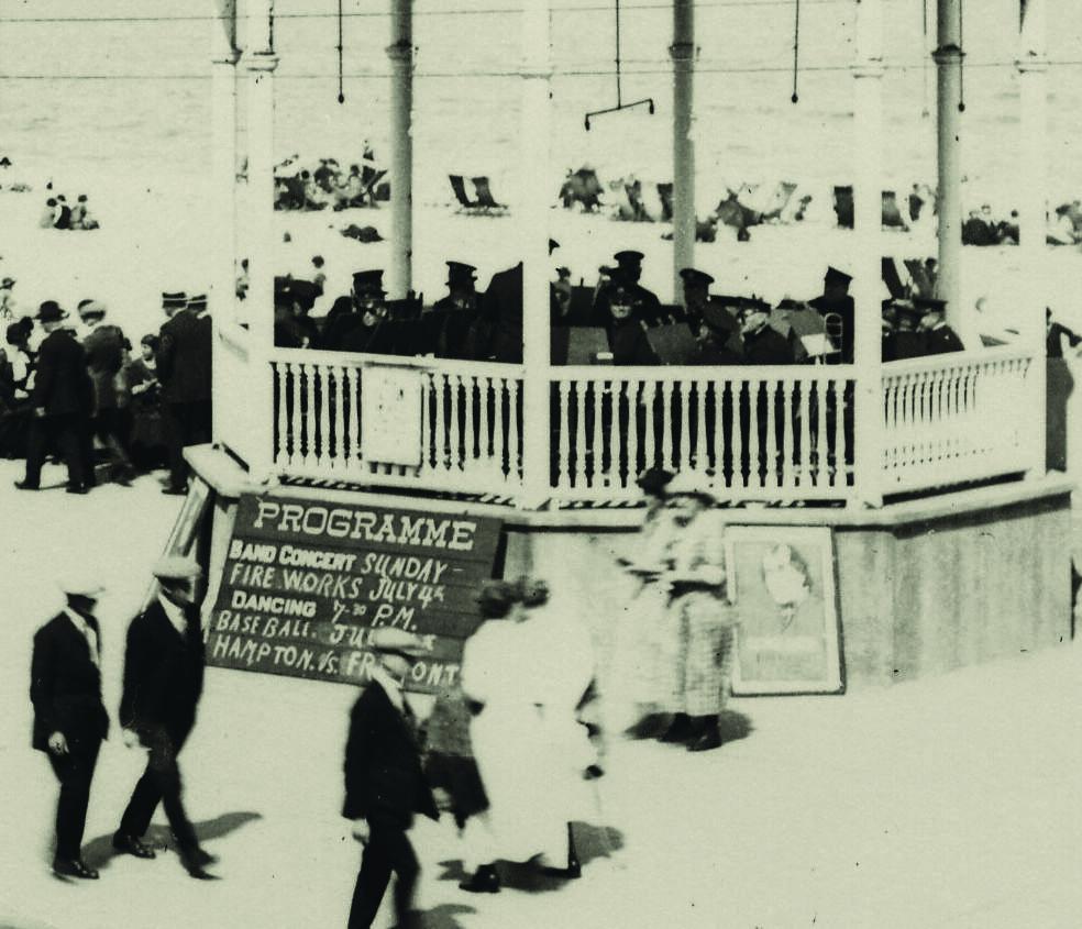 4 - 1922 Bandstand Signboard
