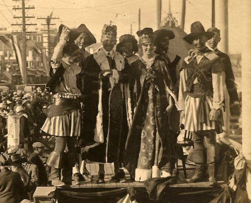 1917 Carnival Queen