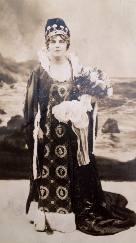 1916 Queen of the Carnival Clara Dudley