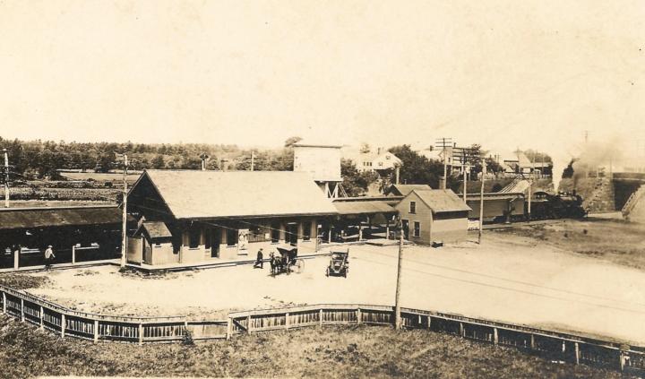 Hampton RR Station