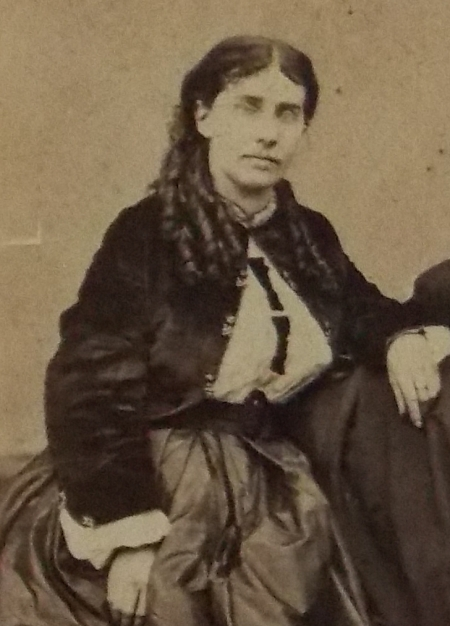 "Virginia ""Jennie"" Perkins, c. 1860. Courtesy Hampton Historical Society."
