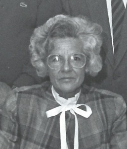 Louisa Woodman 1987