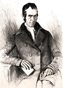 John Greenleaf Whittier, 1852. Library of Congress.