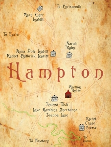 Hampton Tavern map