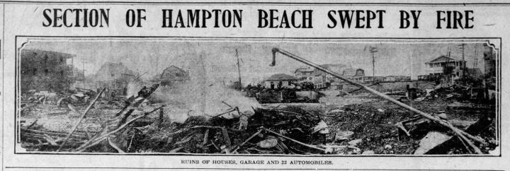 1923 Boston Globe front page