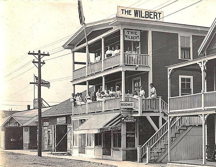 Bristol Garage and Wilbert Hotel, c. 1920