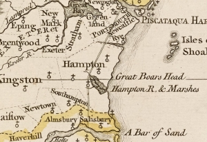 1761 Blanchard Map