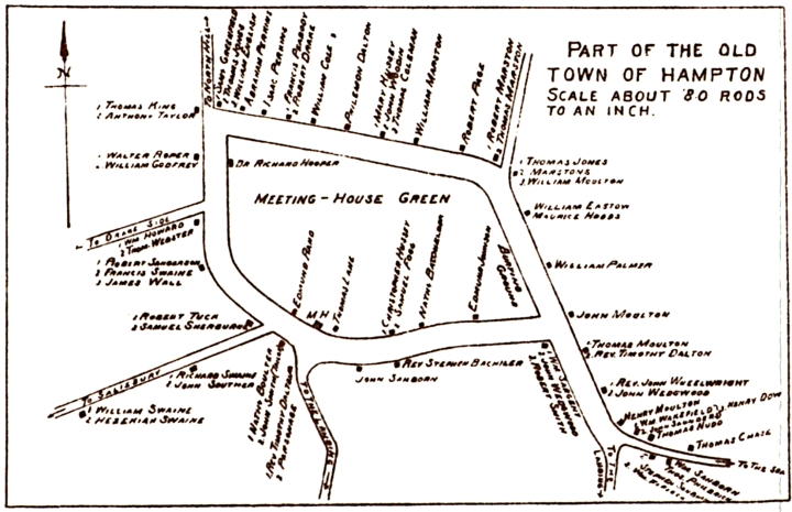 Early Settlers Map